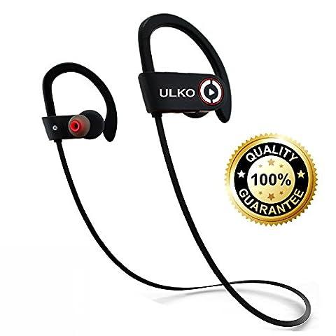 Bluetooth Headphones, Best Wireless Earbuds with Microphone Workout Headphones Running Headphones Sport Headphones Sweatproof HD Stereo Earphones Noise Cancelling Headsets best gift (Over Ear Headphones Blue Tooth)