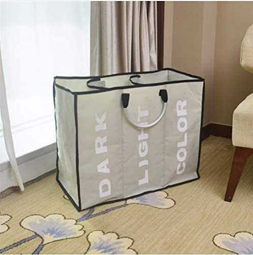 Portable Three Lattice Large Capacity Laundry Basket Light Gray for AG01-1 Portable Twin Tub Washer Machine