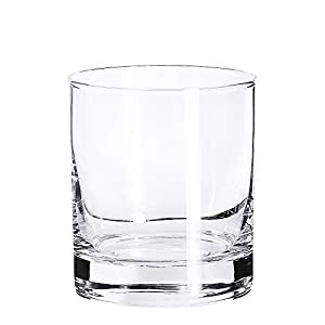 Whiskey Glasses ,Premium 11 Ounce Scotch Glasses /Old Fashioned Whiskey Glasses /Style Glassware for Bourbon/Rum Glasses /Bar Whiskey Glasses,Clear (Set of 6 )
