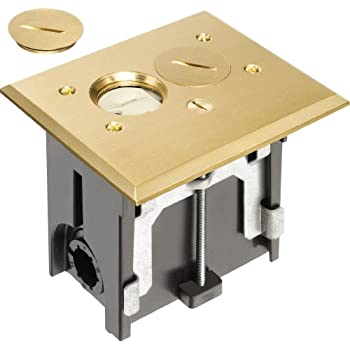 Arlington Flba101mb 1 Adjustable Rectangular Floor Outlet