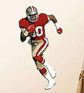 Amazon Com Jerry Rice Mini Fathead San Francisco 49ers