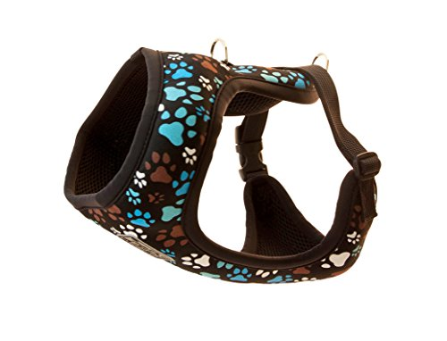 RC Pet Products Cirque Soft Walking Dog Harness, Small, Pitter Patter Chocolate by RC Pet Products