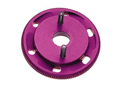 (Robinson Racing RRP #7000 HPI Savage 21 Vented Flywheel, Purple Rrp7000)