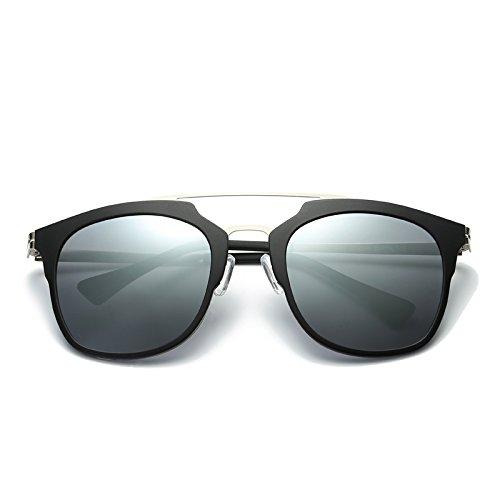 Gafas De zhenghao Xue De con Sol Sol Gafas Moda De Tres drei Polarizador rw5g0Aqwd