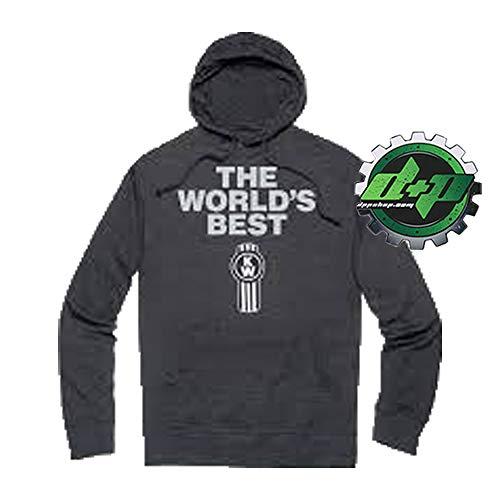 Diesel Power Plus Kenworth Trucks World's Best t Shirt Lightweight Long Sleeve tee KW Jersey 2XL
