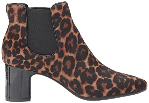 Anne Klein Womens Gorgia Ponyhair Fashion Boot Black/Brown/Multi Ponyhair 4D0wdIG6