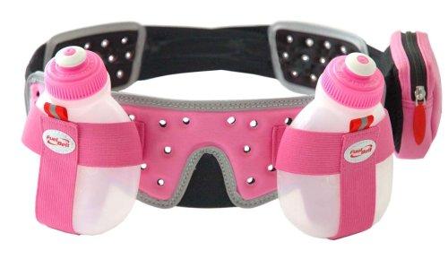 FuelBelt Helium 2 Bottle Belt, Pink, X-Large (Helium 2 Bike)