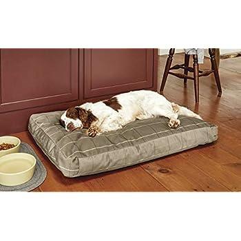 Amazon Com Orvis Toughchew Memory Foam Platform Dog Bed