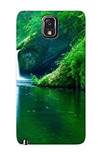 New Punch Bowl Falls Eagle Creek Wilderness Area Columbia River Gorgeoregon Tpu Case Cover, Anti-scratch Trinalgrate Phone Case For Galaxy Note 3