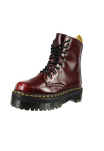Red Unisex Boots Cambridge Cherry Brush Quad Dr Martens Jadon Vegan Red Cherry O6qXSq