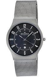 Skagen Men's O233XLSMM Skagen Denmark Grey Steel Watch