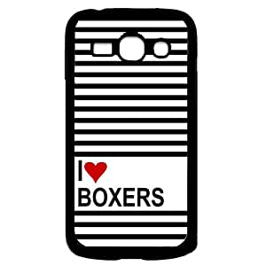 Love Heart Boxers Samsung Galaxy Ace 3 i7272 Case - Fits Samsung Galaxy Ace 3 i7272