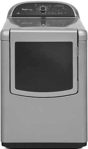 Whirlpool WGD8500BC Cabrio 7.6 Cu. Ft. Chrome Shadow With Steam Cycle Gas Dryer