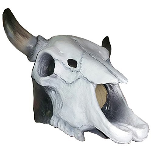 Cow Skull Mask - Halloween Costume Accessory (Cow Skull Halloween Mask)