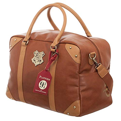 Harry Potter Trunk Inspired Duffle Bag Luggage]()