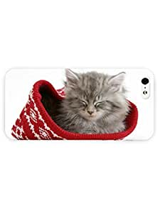 3d Full Wrap Case for iPhone 5/5s Animal Hat