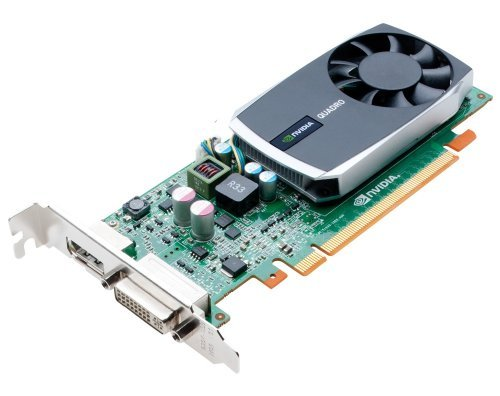 NVIDIA Quadro 600 by PNY 1GB DDR3 PCI Express Gen 2 x16 DVI-I DL and DisplayPort OpenGL, DirectX, CUDA, and OpenCL Professional Graphics Board, VCQ600-PB