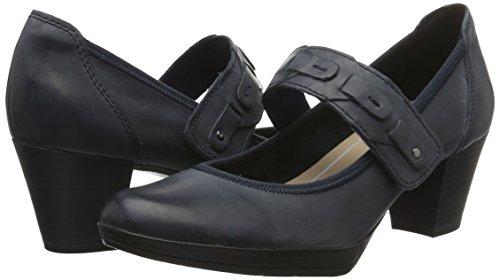 Tacón Mujer Tozzi Zapatos 24415 navy Azul Marco 805 De Premio Para xXq110g