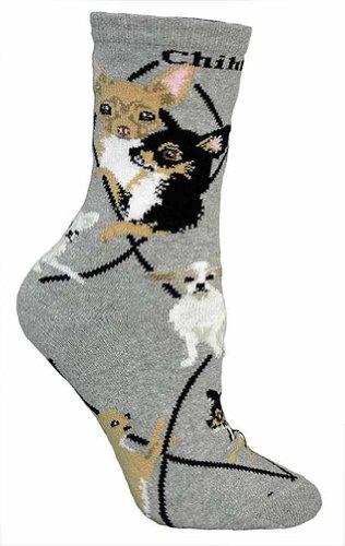Chihuahua Puppy Dog Breed Animal Socks 9-11 (Breed Chihuahua)