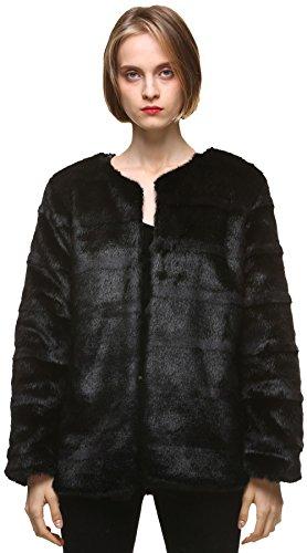 Faux Fur Classic Coat - 5