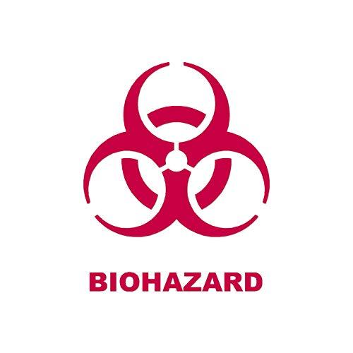 - Biohazard Symbol - Vinyl Decal Sticker - 3