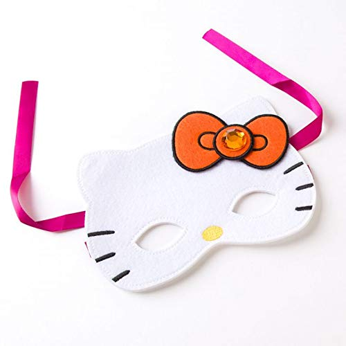 Halloween Card Hello Kitty Wearable Mask w Card -