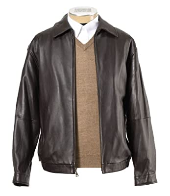 New Jos. A. Bank Lambskin Bomber Jacket