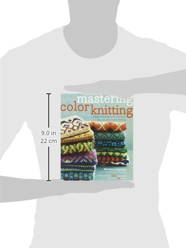 Mastering Color Knitting: Simple Instructions for Stranded, Intarsia, and Double Knitting by Heaven and Earth Designs (Image #4)