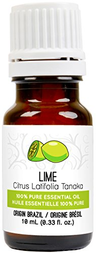 Lime Essential Oil 0 33 fl