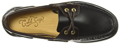 A Amaretto Negro Mocasines Eye Hombre Black Sperry Leather 2 0195214 O de Cuero para dO6wq6