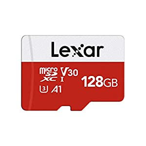 Lexar microSD 128GB microSDカード UHS-I 読取り最大100MB/秒 U3 Class10 【Amazon.co.jp限定】