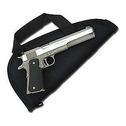 Pistol Case/Pistol Rug for Large Revolvers and Long Slide Autos - Made in USA (6 1/2)