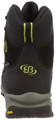 De hauteur Haut Bruetting Takoma Grau Chaussures Schwarz Citron De Noir Hommes Randonnée 0Swdxpq7U
