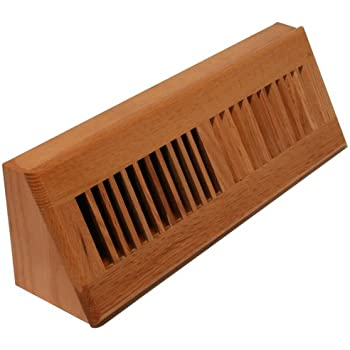 Amazon Com Welland Red Oak Baseboard Diffuser Wood Vent