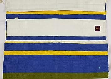 Mysore Cotton Yoga Mats (Rugs) (Blue/Teal), Mats - Amazon Canada