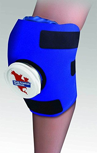 Knee Wrap ICE Bag Pack Cold Therapy Adjustable Sore Compression Swelling Swollen by Unknown
