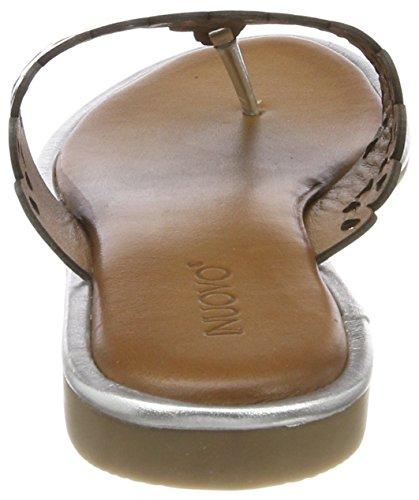 Plateado 8343 16778935 Para Mujer silver Chanclas Inuovo aIPnOgFxa