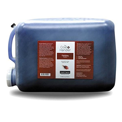 Coat Handler ZX527 99 Clarify Concentrated Shampoo, 5 Gallon by Coat Handler