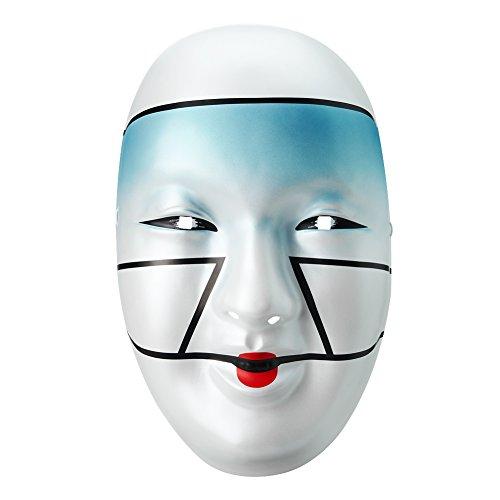 WWE Authentic Asuka Blue Plastic Mask