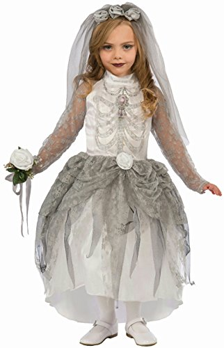 Forum Novelties Skeleton Bride Costume, Medium -