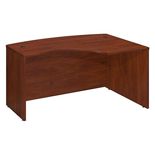 Bush Business Furniture Series C 60W x 43D Right Hand L-Bow Desk Shell in Hansen Cherry (Right Desk L-bow)