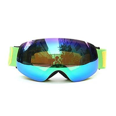 He-yanjing Snowboarding Goggle, Skiing Goggles,Snow Goggles, Male Female Children's ski Goggles