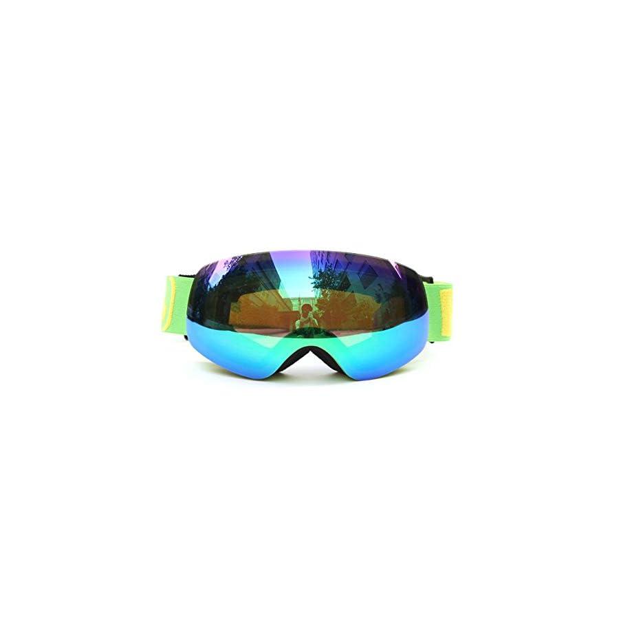 He yanjing Snowboarding Goggle, Skiing Goggles,Snow Goggles, Male Female Children's ski Goggles