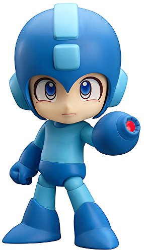 Good Smile Mega Man Nendoroid Action Figure (Mario Games In The World Wide Web)