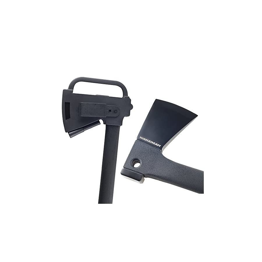 Wakeman Multi Function Camping Axe with Saw & Firestarter