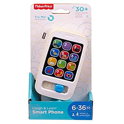 Fisher-Price Laugh & Learn Smart Phone - Gold: Toys & Games