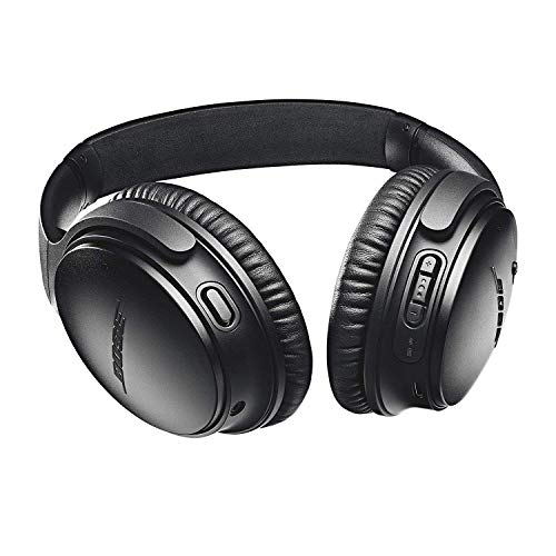Bose QuietComfort 35 II Wireless Bluetooth Headphones, Noise-Cancelling, with Alexa voice control - Black