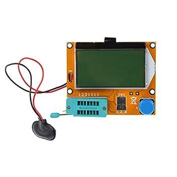 Alloet New LCR-T4 ESR Meter Transistor Tester Diode Triode Capacitance SCR Inductance