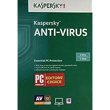 Kaspersky Anti-Virus 2015 (3 PCs)