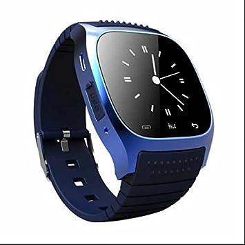 SmartWatch Bluetooth Reloj Inteligente Reloj Deportivo,Monitor de Pulso Cardiaco,Llamada De Notificación Push